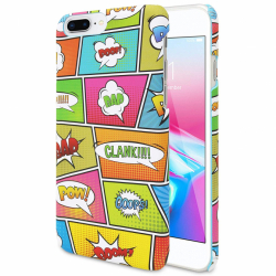 Coque arrière - COLORPOP - iphone 6 + - 6s + - 7 + - 8 +