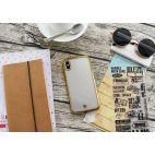 Coque iPhone X DYP - ultra mince et ultra légère – protection anti-choc - transparente - or
