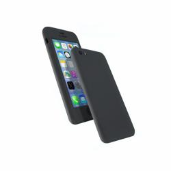 Coque 360 en Rubber pour iPhone 5/5s/SE Noir