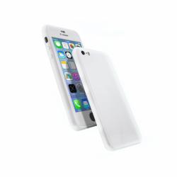 Coque 360 en Rubber pour iPhone 6/6s Argent