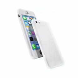 Coque 360 en Rubber pour iPhone 6+/6s+ Argent