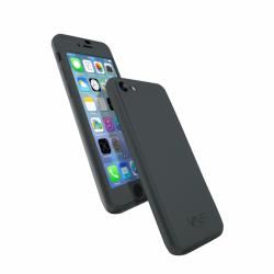Coque 360 en Rubber pour iPhone 7 Noir