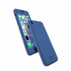 Coque 360 en Rubber pour iPhone 7 Bleu