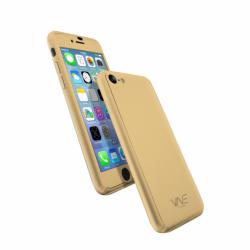 Coque 360 en Rubber pour iPhone 7 Gold