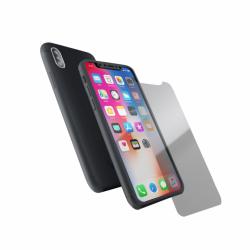 Coque 360 en Rubber pour iPhone X Noir