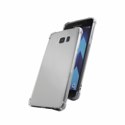 Cover Skin Grip Shockproof Samsung A3 2017 Wave Concept Transparent