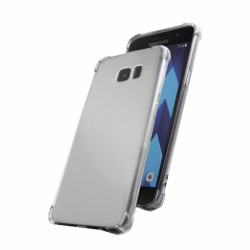 Cover Skin Grip Shockproof Samsung A7 2017 transparent