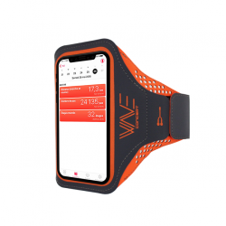 Brassard Universel Ultra Slim Wave Concept Orange