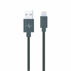 Wave Concept - Câble Nylon Colors pour iPhone 5/6/7/X - série Elégance