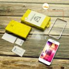 Vitherum Gold 2 verres trempés 2.5D de qualité supérieure iPhone 8 + / 7 +