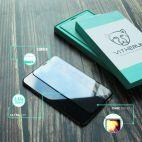 Vitherum Turquoise Verre trempé incurvé 3D de qualité supérieure iPhone XS Max