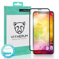 Vitherum Turquoise Verre trempé incurvé 3D de qualité supérieure iPhone XR