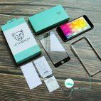Vitherum Turquoise Verre trempé incurvé 3D de qualité supérieure iPhone 8 + / 7 +
