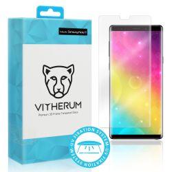 Vitherum Aqua Verre trempé transparent incurvé 3D de qualité supérieure (fixation UV) note 9
