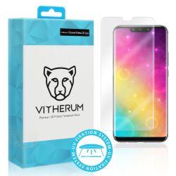 Vitherum Aqua Verre trempé transparent de haute qualité entièrement incurvé en 3D (fixation UV) Huawei Mate 20 Lite