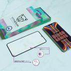 Vitherum Opal Verre trempé VideoGame 3D incurvé de qualité supérieure iPhone XS Max