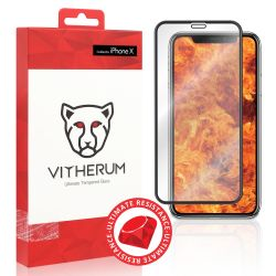 Vitherum Ruby Verre trempé Ultimate Resistance iPhone X / XS