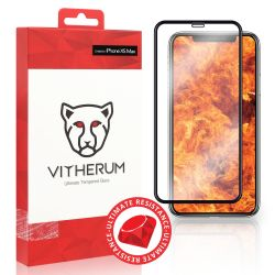 Vitherum Ruby Verre trempé de résistance ultime iPhone XS Max