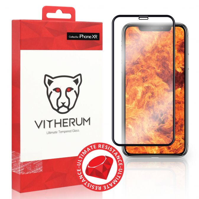 Vitherum Ruby Verre trempé Ultimate Resistance iPhone XR