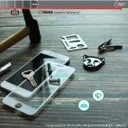 Vitherum Turquoise Verre trempé incurvé 3D de qualité supérieure iPhone 8/7