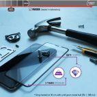 Vitherum Opal Verre trempé VideoGame 3D incurvé de qualité supérieure iPhone X / XS