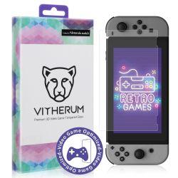 Vitherum Opal Verre trempé VideoGame Premium 2.5D Nintendo Switch