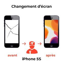 Changement d'écran iPhone 5S