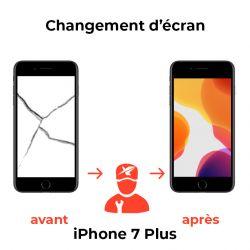 Changement d'écran iPhone 7 Plus