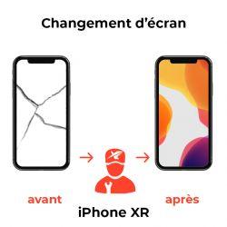 Changement d'écran iPhone XR