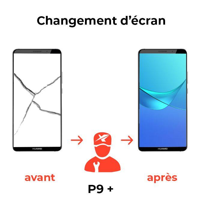 Changement d'écran P9 +