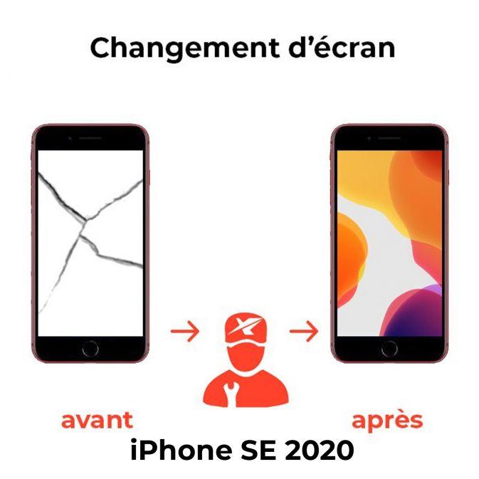Réparation écran SE 2020