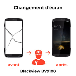 Remplacement écran Blackview BV9100