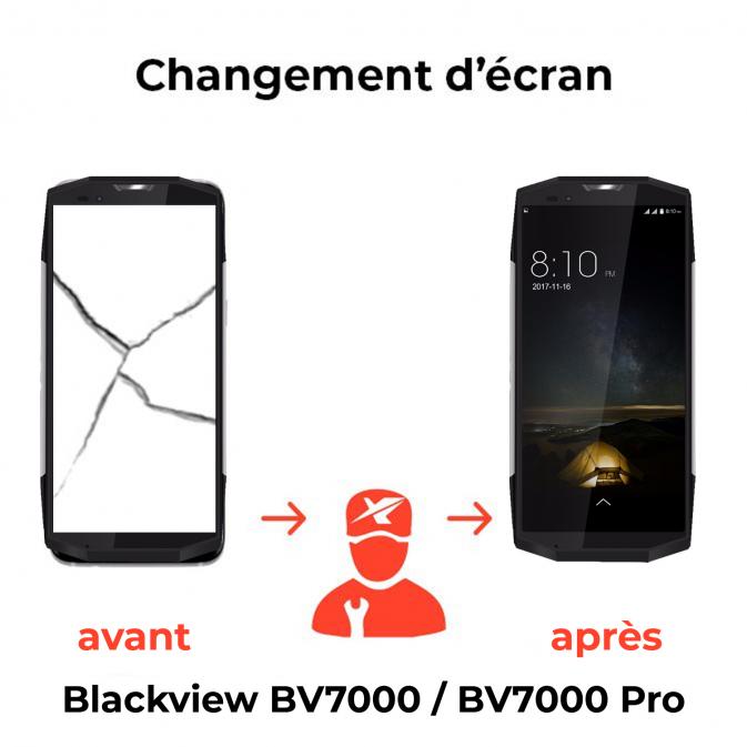 Remplacement écran Blackview BV7000 BV7000 pro