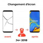 Réparation écran Samsung J4+ 2018
