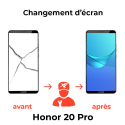 Réparation écran Honor 20 Pro