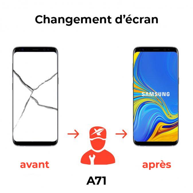 Réparation écran Samsung A71