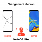 Réparation écran Samsung Note 10 Lite