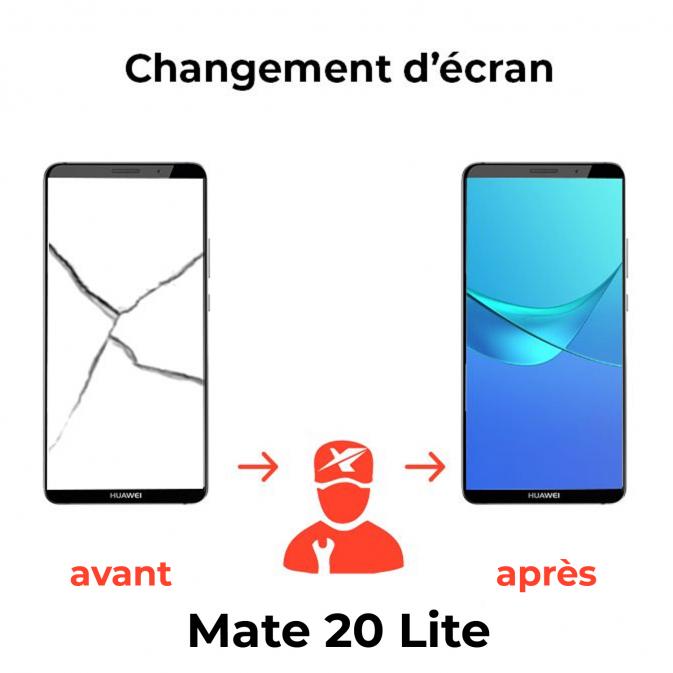 Réparation écran Huawei Mate 20 Lite