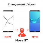 Réparation écran Huawei Nova 5T