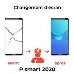 Réparation écran Huawei P smart 2020