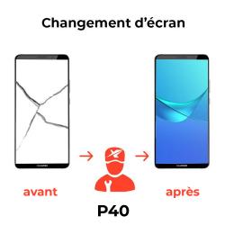 Réparation écran Huawei P40
