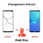 Réparation écran Huawei P40 Pro