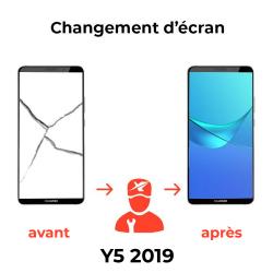 Réparation écran Huawei Y5 2019