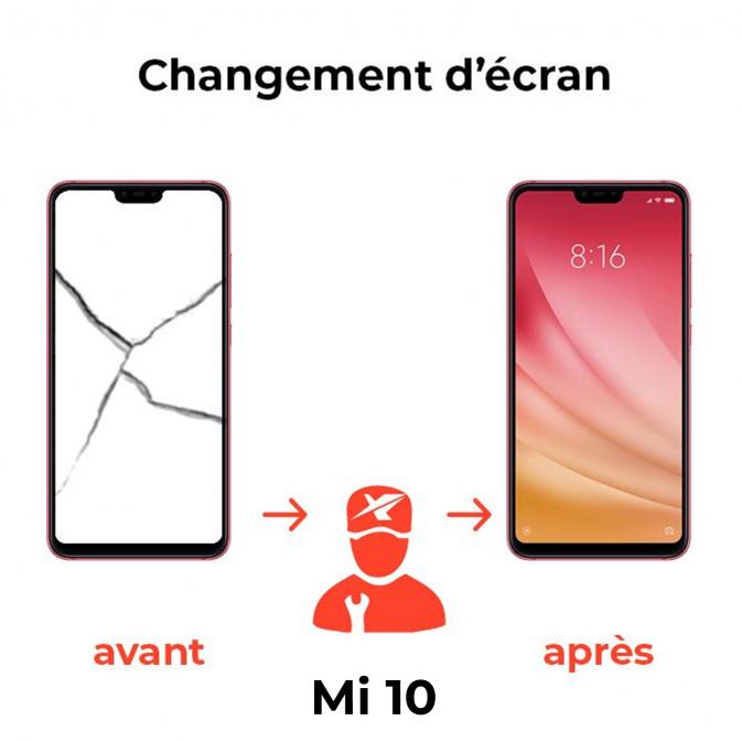 Réparation écran Xiaomi Mi 10