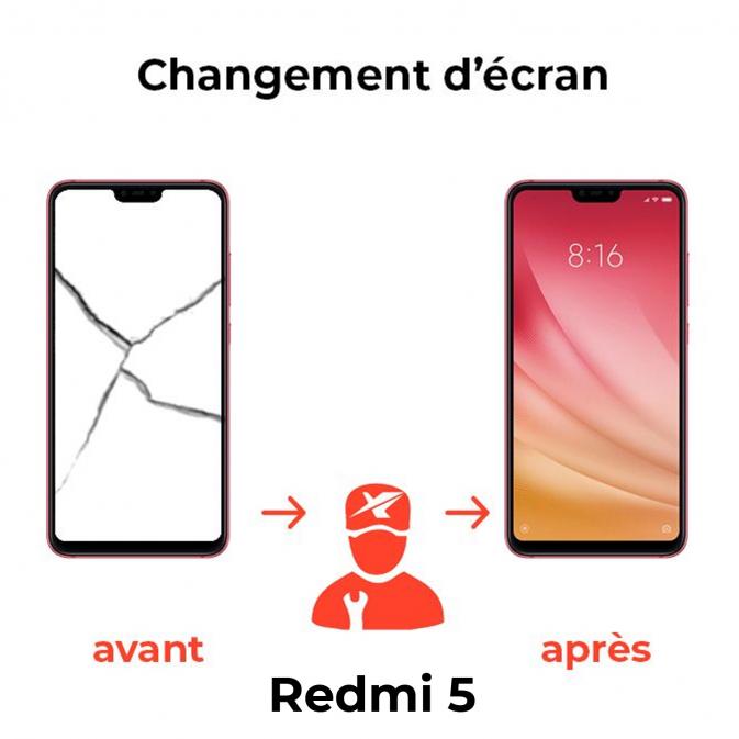 Réparation écran Xiaomi Redmi 5
