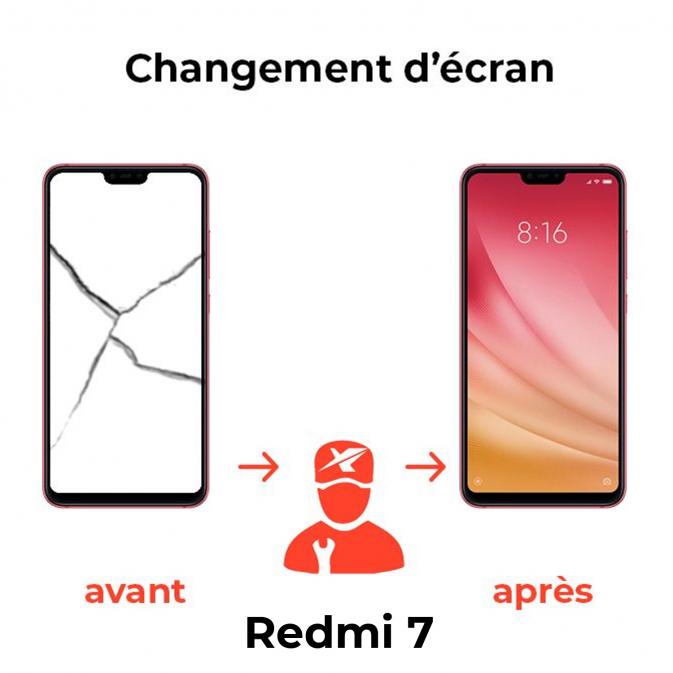 Réparation écran Xiaomi Redmi 7