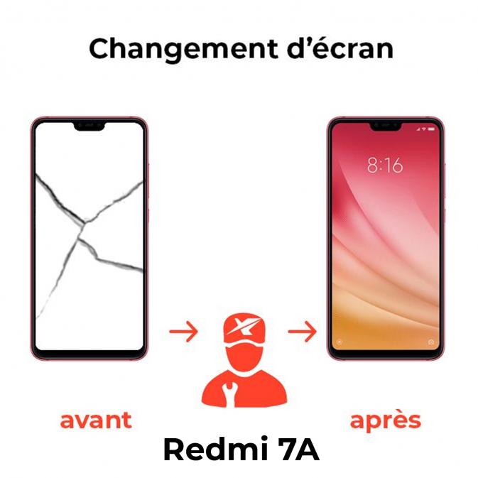 Réparation écran Xiaomi Redmi 7A
