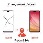 Réparation écran Xiaomi Redmi 9A