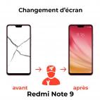 Réparation écran Xiaomi Redmi Note 9