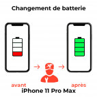 Remplacement Batterie iPhone 11 Pro Max